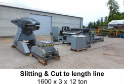 Iowa Slitting & cut to length 1600 x 3 x 12 ton