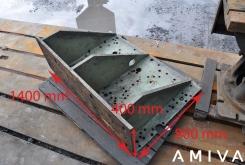 Clamping bracket 1400 x 800 x 400 mm