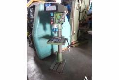 Brown 10 speed drill press