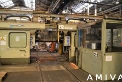 Hegenscheidt PN 190 CNC portal wheelset lathe