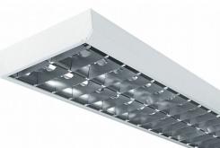 Complete line for fixtures of fluorescent lighting
