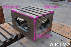 Clamping bloc 590 x 500 x 400 mm