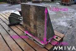 Clamping bracket 1300 x 1260 x 690 mm