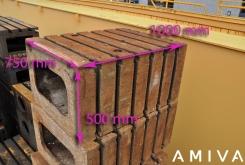 Clamping bloc 1000 x 745 x 500 mm