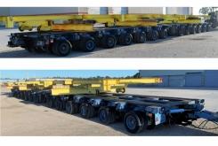 Nicolas modular trailer 400 ton