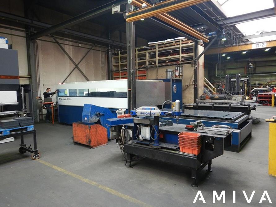 TRUMPF TruLaser 3030 3000 x 1500 mm 3200 Watt