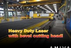 ESAB Trumpf Heavy Duty bevelcut laser 24 x 6 meter