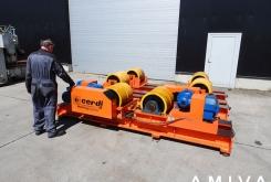 Cerdi Turning gear 120 ton
